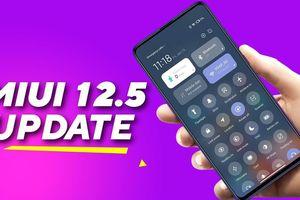 16 mẫu điện thoại được nâng cấp lên MIUI 12.5