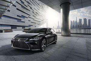 Xe sang Lexus LS nâng cấp về Việt Nam, giá từ 7,2 tỷ đồng