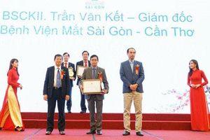 Bệnh Viện Mắt Sài Gòn Cần Thơ nhận giải thưởng Bác sĩ tiêu biểu năm 2020