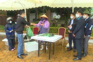 Gần 3,2 tấn nông sản Quảng Ninh được Công ty Than Hòn Gai hỗ trợ tiêu thụ