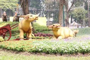 TP Hồ Chí Minh: Nhiều điểm vui chơi trong dịp Tết