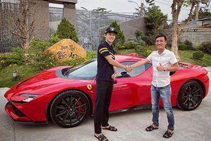 Đại gia Gò Vấp 'tậu' siêu xe Ferrari SF90 Stradale và F8 Spider