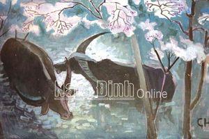 Hình tượng con trâu trong các tác phẩm mỹ thuật Nam Định