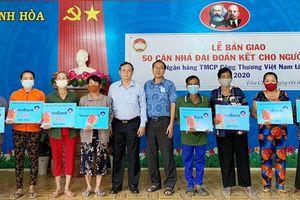 Ngân hàng TMCP Công thương Việt Nam tài trợ 2,5 tỷ đồng xây 50 căn nhà cho hộ nghèo TX. Tân Châu