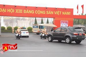Lực lượng Công an bảo vệ tuyệt đối an toàn đại hội Đảng lần thứ XIII
