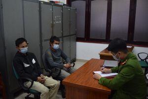 Quảng Ninh: Bắt 2 đối tượng trốn chốt kiểm soát phòng dịch Covid-19 để đi mua ma túy