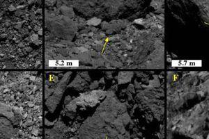 Ánh sáng mặt trời làm nứt đá trên tiểu hành tinh Bennu