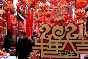 Hình ảnh không khí trước thềm năm mới Tân Sửu tại châu Á