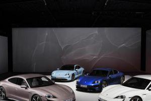 Xe điện Porsche Taycan ra mắt: Trang bị hệ thống dẫn động cầu sau, vận hành ấn tượng