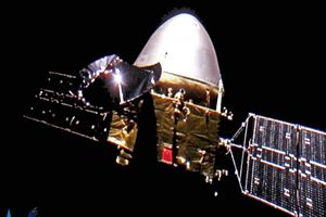 Tàu vũ trụ Trung Quốc tiến vào quỹ đạo sao Hỏa