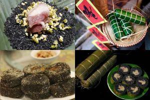 Cách làm bánh chưng đen ngày Tết của người dân tộc Tày Tây Bắc