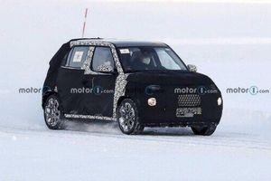 Lộ diện mẫu xe 'tí hon' Hyundai AX1 trên đường chạy thử