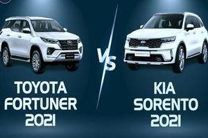 Xếp hạng SUV 7 chỗ tháng 1/2021: Kia Sorento 'đả bại' Toyota Fortuner