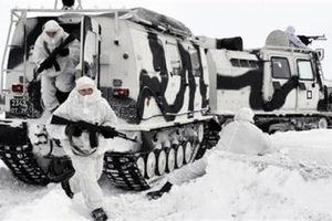 Nga tập trận mùa đông mang tên 'Bắc cực'