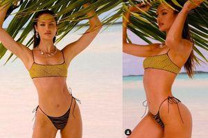 Candice Swanepoel khoe đường cong tuyệt mỹ trong bộ sưu tập áo tắm mới