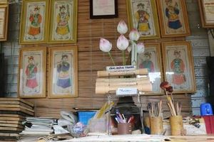 Tranh làng Sình - nét đẹp văn hóa của mảnh đất Cố đô Huế