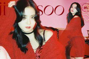 Mặc set đồ đỏ của D&G trị giá gần 175 triệu, Jisoo (BLACKPINK) quyến rũ hơn cả mẫu xịn của hãng