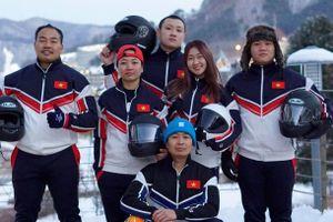 Tết xa nhà vì giấc mơ Olympic mùa đông của tuyển bobsleigh Việt Nam