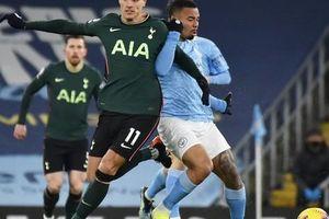 Thắng vùi dập Tottenham, Man City bay cao trên đỉnh bảng Ngoại hạng