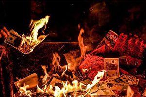 Văn khấn cúng hóa vàng - lễ tạ năm mới mùng 3 Tết Tân Sửu