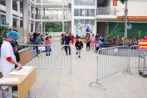 109 người hoàn thành cách ly tại Trường Tiểu học Xuân Phương