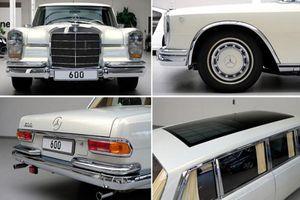 Xe siêu sang Mercedes-Benz 600 Pullman 46 tuổi hơn 60 tỷ đồng