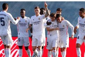 Real Madrid thoát khủng hoảng thắng trận thứ ba liên tiếp