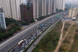 Mùng 4 Tết, cao tốc Pháp Vân- Cầu Giẽ tắc dài hàng km