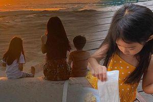 Con gái Tăng Thanh Hà có mái tóc dài thướt tha chẳng kém mẹ