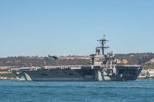 Tàu sân bay Mỹ USS Theodore Roosevelt lại bị Covid-19 tấn công