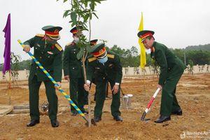 Bộ CHQS tỉnh phát động 'Tết trồng cây' 2021