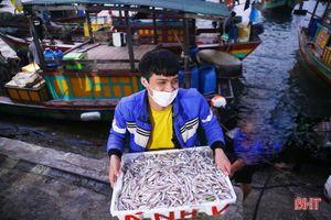 Ngư dân Hà Tĩnh phấn khởi 'xông biển' đầu năm mới
