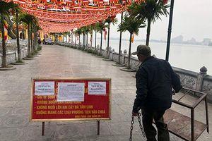 Hà Nội: Di tích lịch sử văn hóa, hàng quán ngưng hoạt động để chống Covid-19