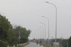Thắp sáng những tuyến giao thông ở Phú Xuyên