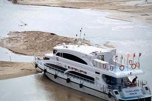 Mực nước sông Mekong vẫn giảm sau khi Trung Quốc đóng đập
