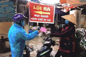 Chí Linh, Hải Dương phát hành phiếu đi chợ cho người dân