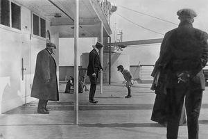 Khoảnh khắc đắt giá tàu Titanic huyền thoại trước khi gặp nạn