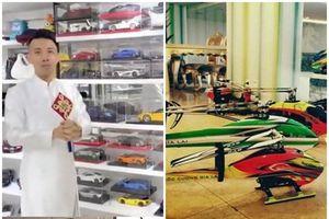 Choáng ngợp bộ sưu tập siêu xe mô hình của đại gia Việt