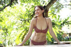 'Mỹ nhân đẹp nhất Philippines' hiếm hoi mặc bikini gợi cảm