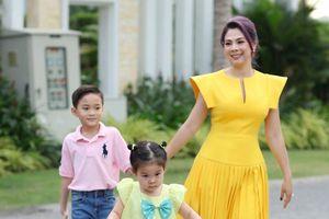 Thanh Thảo đón Tết tại Việt Nam, mong muốn các con giữ gìn văn hóa dân tộc
