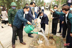Các địa phương, đơn vị ở Hà Tĩnh phát động trồng cây đầu năm