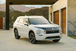 Mitsubishi Outlander 2022 trình làng: 'Lột xác', tăng giá bán