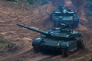 Hai mẫu xe tăng chủ lực hàng đầu của Lục quân Nga hiện nay