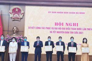 Hà Nội: Giáo dục Ba Đình có thành tích xuất sắc chào mừng Đại hội XIII của Đảng