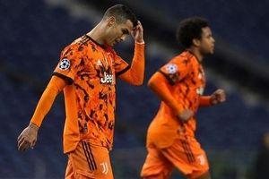 Hàng thủ lỏng lẻo khiến Juventus thất bại trước Porto