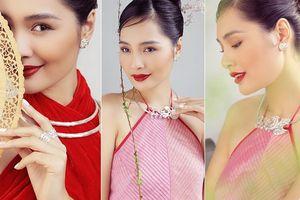 'Hoa hậu đẹp nhất châu Á 2009' Hương Giang đẹp gợi cảm hút hồn sau 11 năm kết hôn