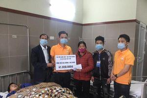 Hỗ trợ gia đình cháu bé 8 tuổi tai nạn thương tâm ở Lạng Sơn