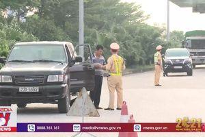 Phạt nguội gần 600 phương tiện vi phạm trên cao tốc
