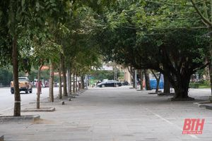 TP Thanh Hóa: Không còn tình trạng sử dụng vỉa hè, không gian công cộng để kinh doanh