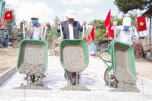 Kon Tum: Phấn đấu có thêm nhiều xã đạt chuẩn nông thôn mới